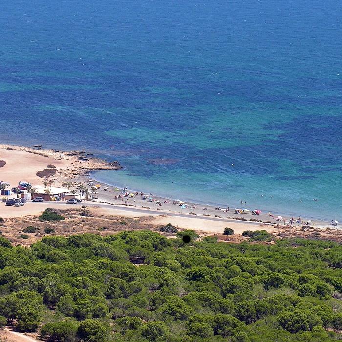 Resultado de imagen de playas de santa pola el cabo