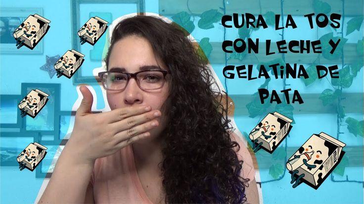 CURA LA TOS CON LECHE Y GELATINA DE PATA, Easywithlu