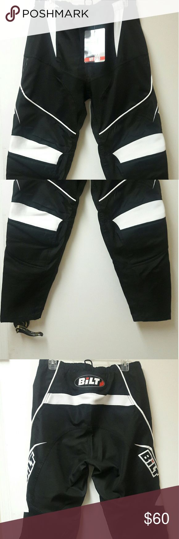 OFF ROAD MOTORCYCLE PANTS Brand new with tags, ready for you to get them dirty Bilt Pants