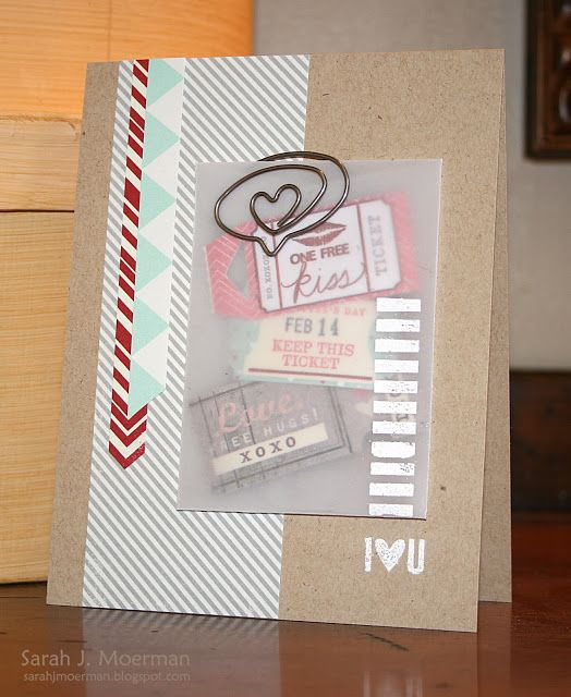 Created by Sarah Moerman using the  Simon Says Stamp January 2014 Card Kit. December 2013