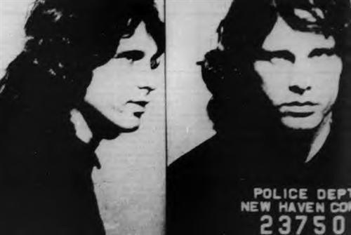 Jim Morrison becomes first rock star arrested onstage Dec 9, 1967