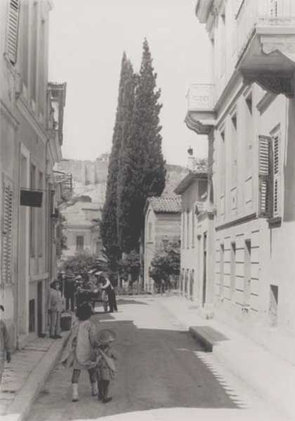 1919 ~ Street in Plaka, Athens