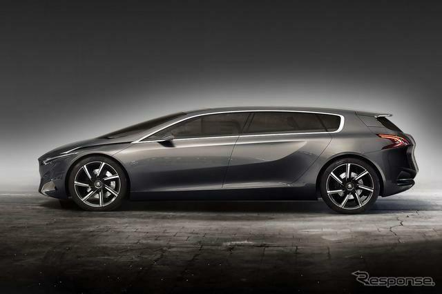 The prettiest MPV ever - Peugeot HX1 Hybrid, MPV Concept Car