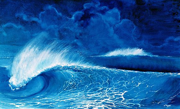 Mayumi Tsubokura > Surf Artist Exhibit & Interview | Club Of The Waves