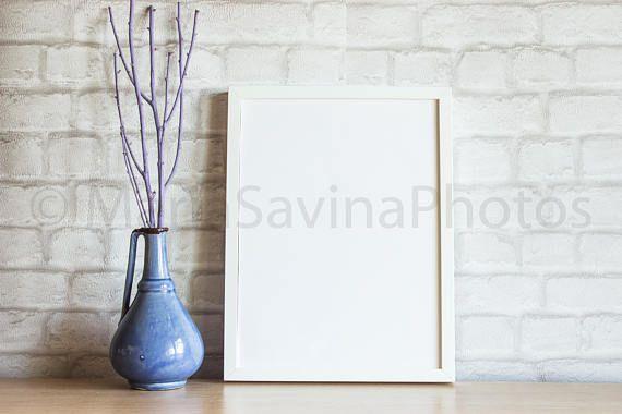 Styled Stock Photo  Frame Mock Up  Product Mock Up  Empty