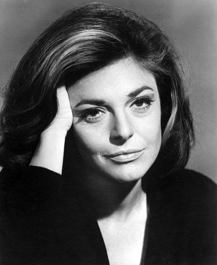 Anne Bancroft  The one and only. Oh I loved her eyes, her voice. Her every movement was classy and full of character.