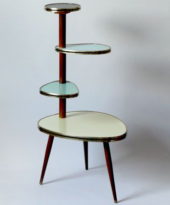Original 1950s midcentury plant stand Can i please find this at the thrift store!?!?