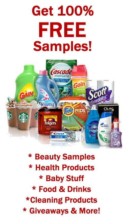 Get Free Samples by Mail 100 FREE! http\/\/fantasticfreebiesnet - product list samples