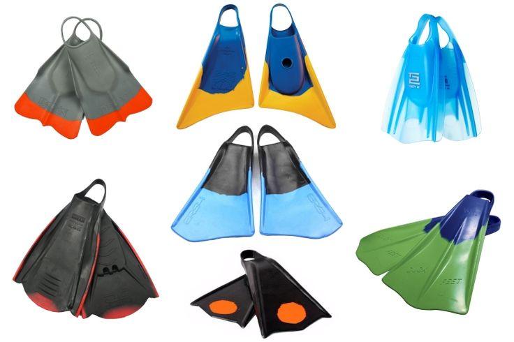 Swim fins: bodysurfers need light and floatable propulsion