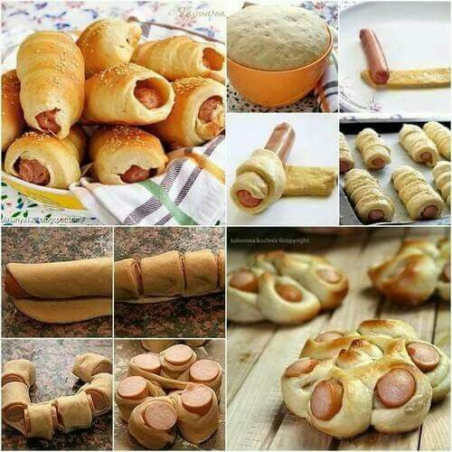 Another way to make hot dog