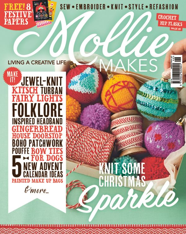 Love craft? You'll love a Mollie Makes subscription. Subscribe now and save money with our exclusive offers. Worldwide delivery, direct to your door.