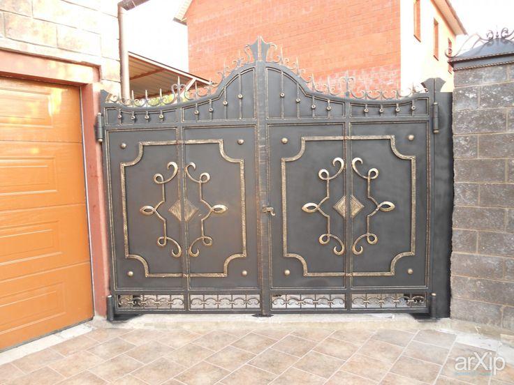 Кованые ворота: промышленный дизайн, восточный, марокканский стиль, кованые изделия #industrialdesign #east #moroccanstyle #forgedproducts arXip.com
