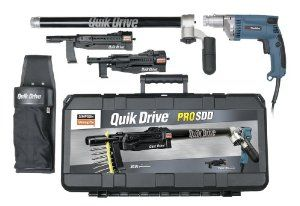 Quik Drive® Auto-Feed Systems increase productivity while providing superior fastener performance.  Fastening has never been as fast or as cost-effective. Collated-screw fastening tools are replacing traditional nail guns for their speed, reliability and power.
