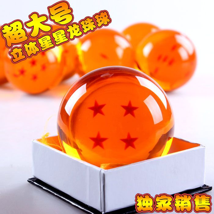 $14.99 (Buy here: https://alitems.com/g/1e8d114494ebda23ff8b16525dc3e8/?i=5&ulp=https%3A%2F%2Fwww.aliexpress.com%2Fitem%2FJapanese-Anime-Dragon-Ball-Z-Crystal-Ball-Big-3-4-Star-Dragon-Ball-7cm-Rubber-Material%2F32695314230.html ) Japanese Anime Dragon Ball Z Crystal Ball Big 3/4 Star Dragon Ball 7cm Rubber Material New in Box Wholesale/Retail for just $14.99