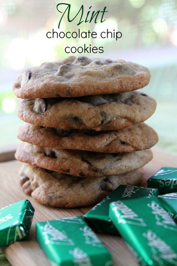 Mint Chocolate Chip Cookies from Awesome on 20