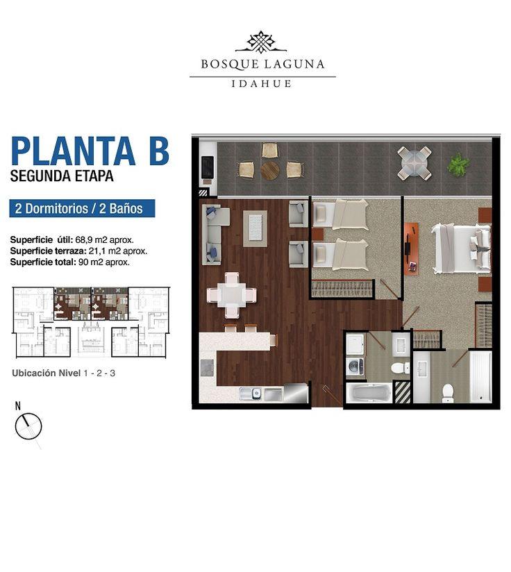 Bosque Laguna - Departamentos en San Pedro de la Paz : elinmobiliario.cl