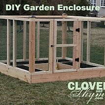 Hometalk :: Keep unwanted critters out of your garden! and so many more uses...possible greenhouse, dog run, etc