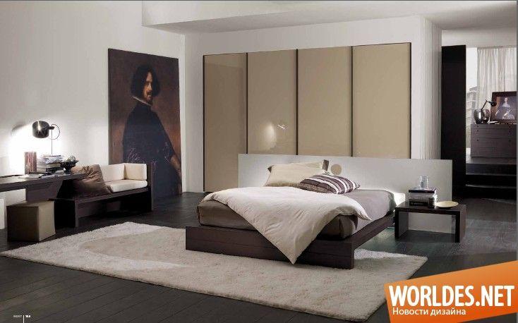 Красивые спальни от Mobileffe.