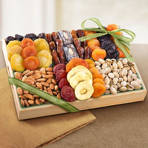 Pacific Coast Deluxe Dried Fruit & Nut Tray - CFG8001