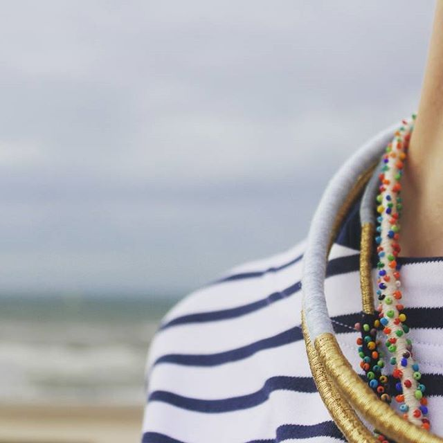 ✨Coming soon on Etsy!✨ Follow us, don't miss it! 👍  #lunariejewellery #handmadejewelry #handmade #jewellery #necklace #style #fashion #design #designer #stripes #simplicity #sea #seaside #look #girl #toys #neck #gold #beads #minimalism #new #brand #followus #dontmissit #fashion #woman #workinprogress