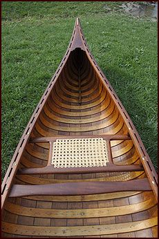 Classic Wood Old Town Canoe