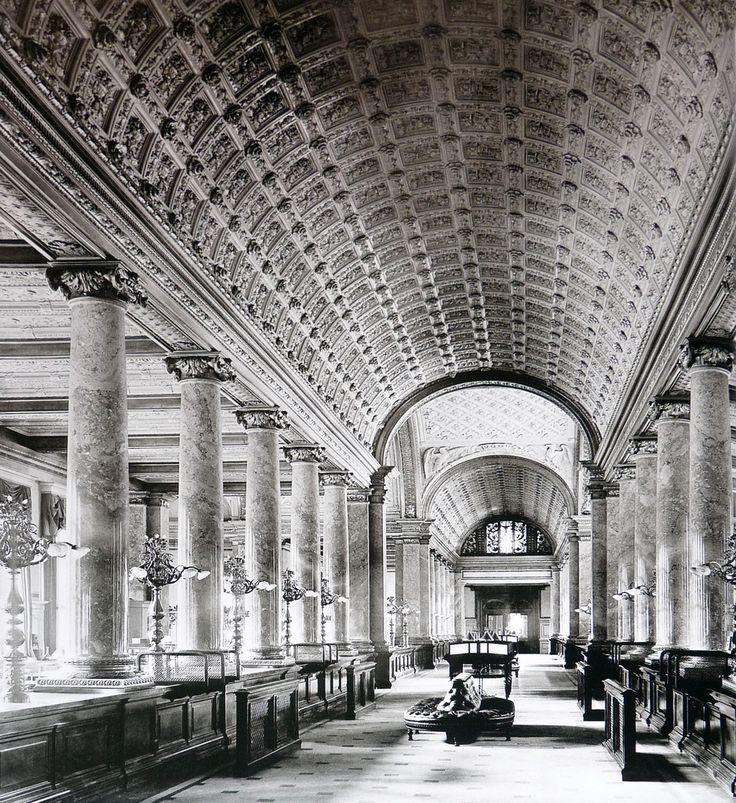 Berlin in alten Bildern -Erweiterungsbau der Reichsbank um 1900 in der Jägerstraße – Hans-Jürgen Seifert