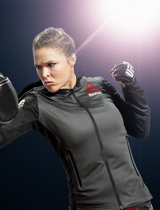 Go Behind the Scenes with Ronda Rousey! - Fitness.reebok.com