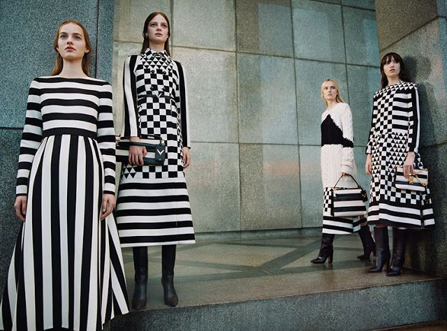Orsay Style Notes: VALENTINO FALL/WINTER 2015/2016 CAMPAIGN