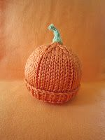 PREEMIE PUMPKIN HAT   KNIT PATTERN    Free pattern for charitable purposes and personal use only.     Please do not sell garments knit fro...