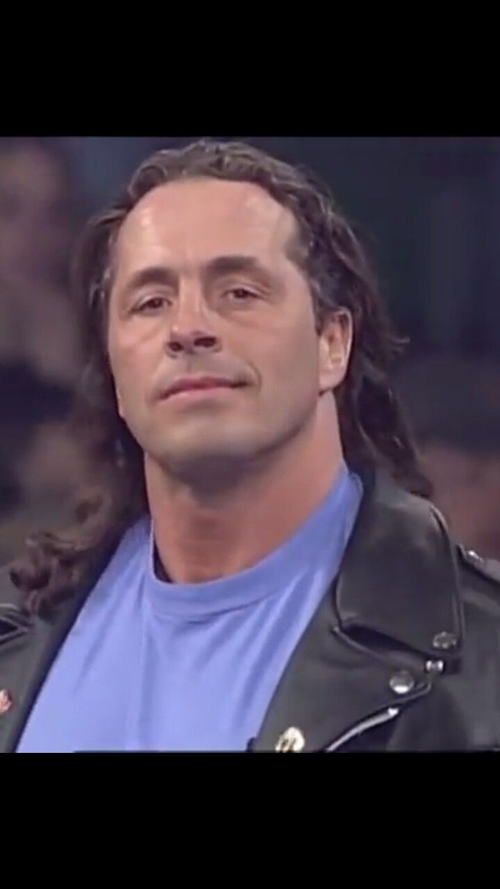 "Bret ""HITMAN"" Hart... Sexiest man EVER. The Excellence of Execution Baby."