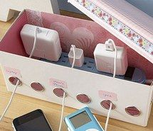 Inspiring picture bedroom, diy, floral, idea, iphone, box, ipod, cute, flowers, laptop, kawaii, room, pink and white, battery charger, pink. Resolution: 400x400. Find the picture to your taste!
