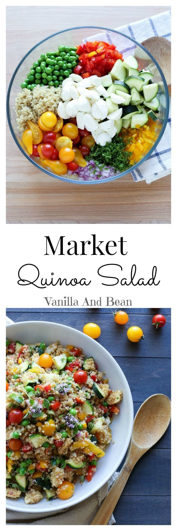 Summertime goodness in a bowl! Hearty, and delicious, a perfect addition to a picnic, potluck or any time!  | Vanilla And Bean