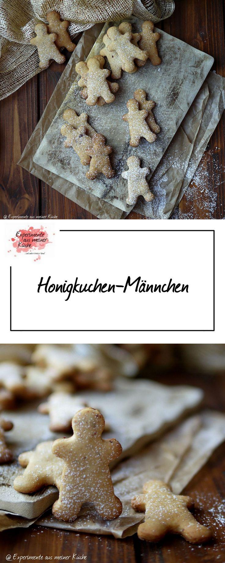 Honigkuchen-Männchen      Weihnachtsbäckerei   Rezept   Backen   Plätzchen