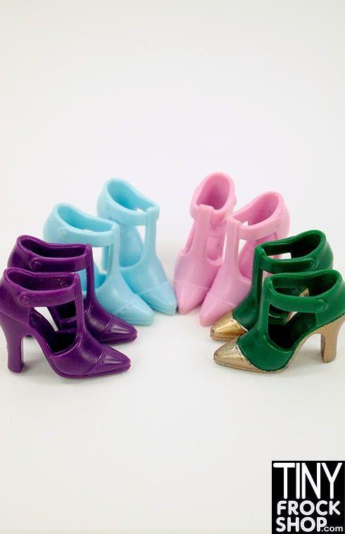 Barbie T-Strap Versace Style Shoes $7.25 via @shopseen