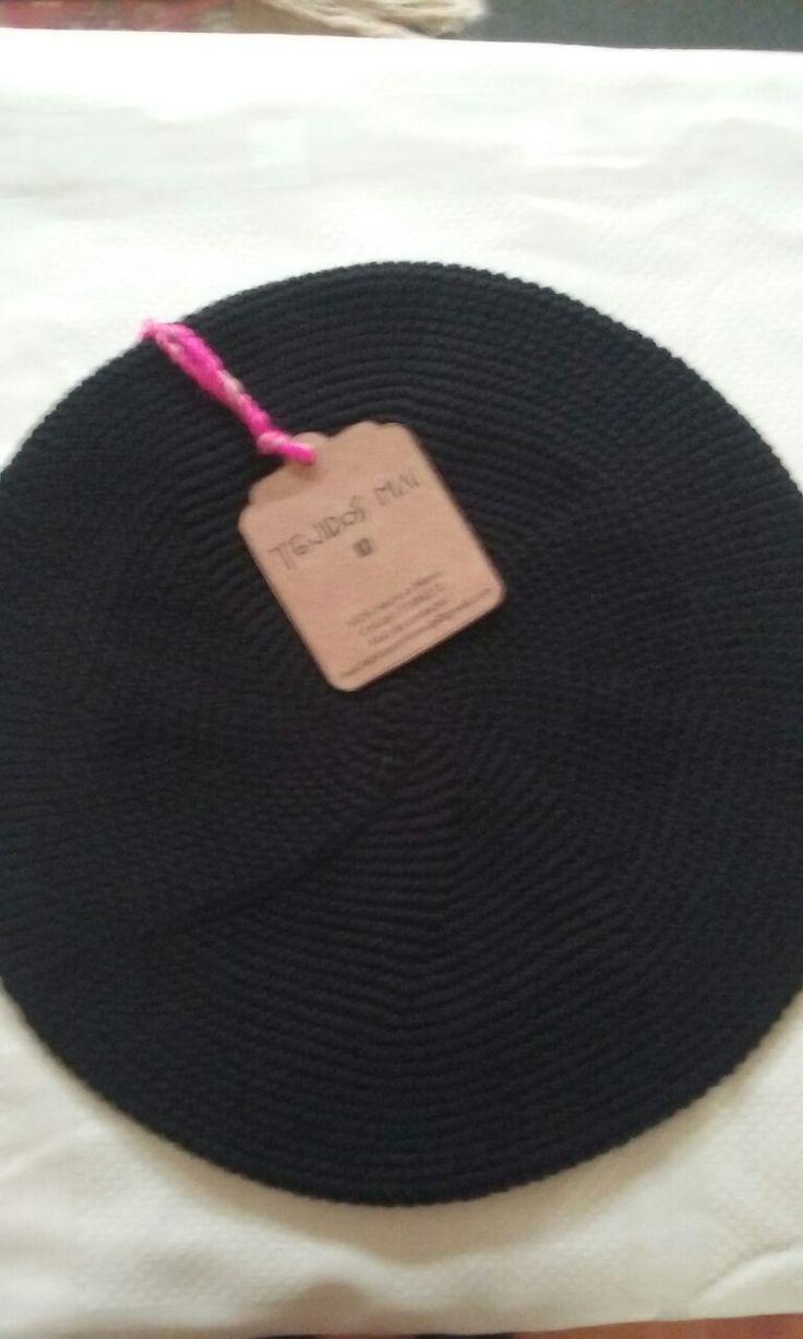 Boina 100% Hilo.....Tejido Crochet