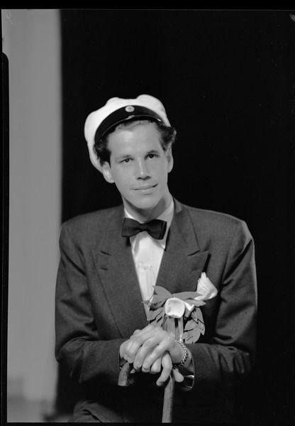 Anders Wall, 1952, photo: Gunnar Sundgren (1901-1970), [UPPSALA UNIVERSITY LIBRARY, BILD:16266]