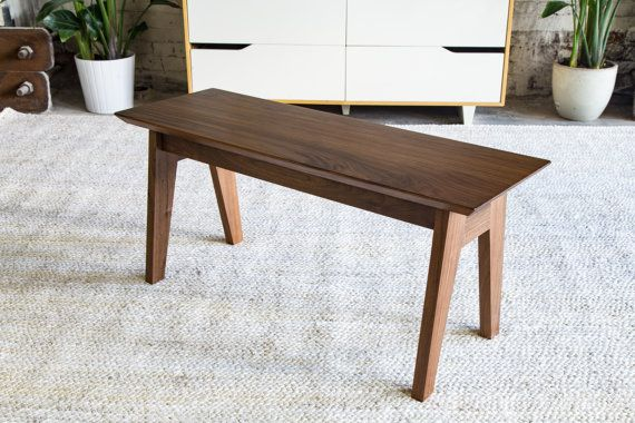 Hey, I found this really awesome Etsy listing at https://www.etsy.com/listing/287471333/modern-bench-walnut-bench-dining-table