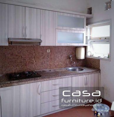 Kitchen set serpong     Casafurniture.id Jasa pembuatan furniture minimalis , Kitchen set , Lemari pakaian , kamar set dll     Berikut meru...