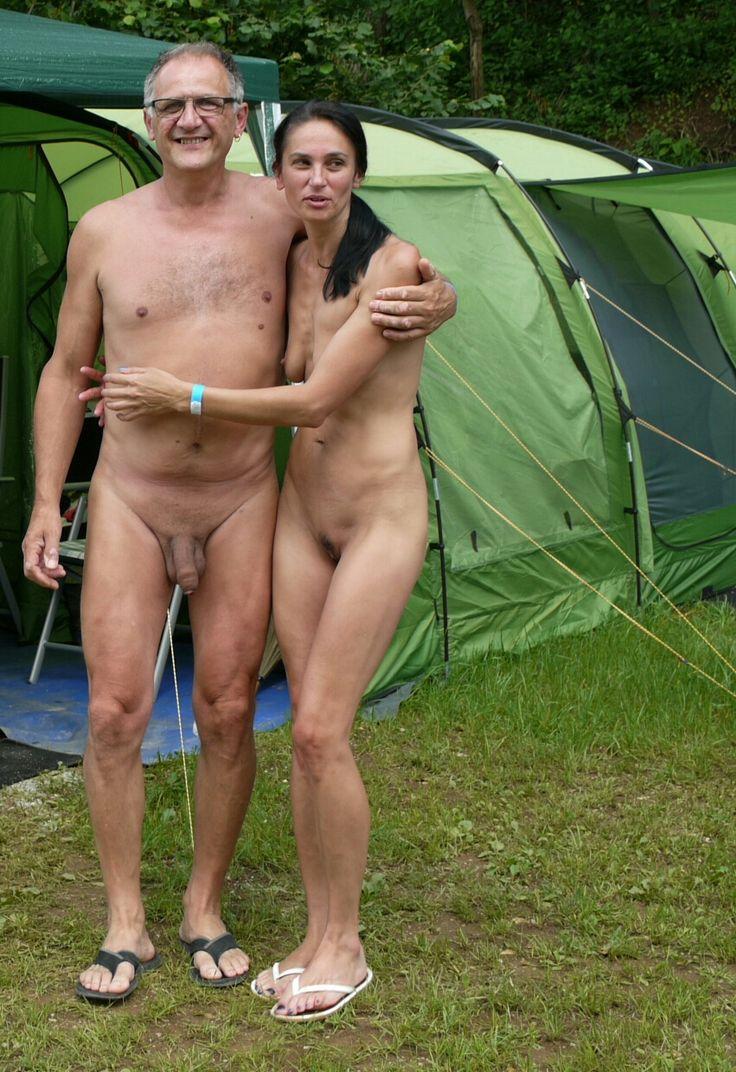 granny nude camping