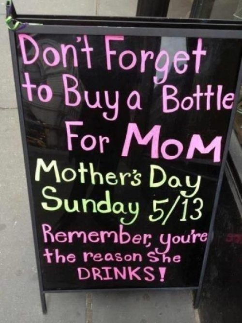 the truth behind mother's day
