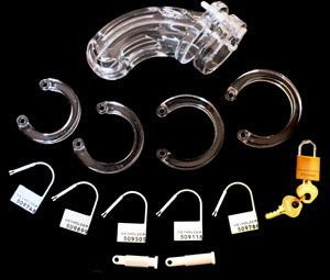 The Curve Complete Package - Male chastity device.