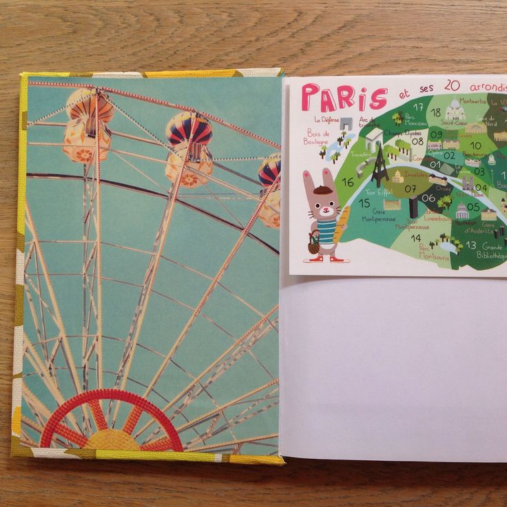 Notebook for travel stories