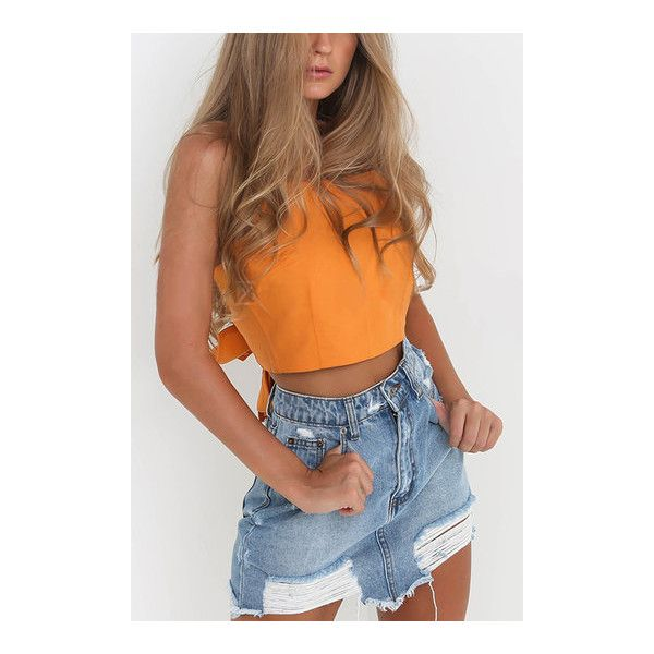 Yoins Square Neck Knot at Back Cami Top in Orange ($12) ❤ liked on Polyvore featuring tops, sleeveless tank, cami tank tops, square neck tank, orange tank top and sleeveless tank tops