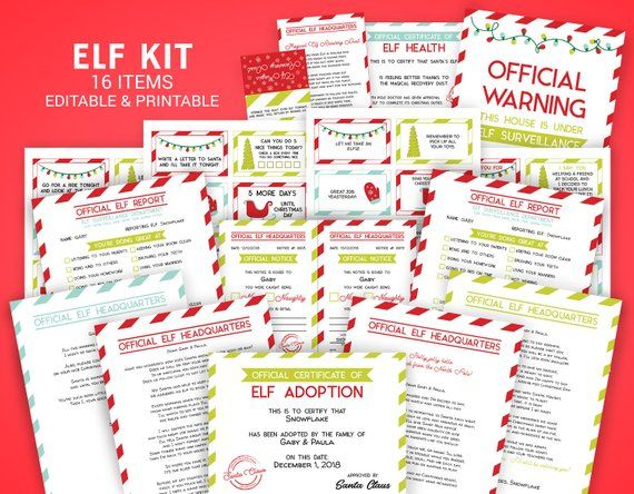 Need Help With Your Elf Make It Simple This Kit 16 Items