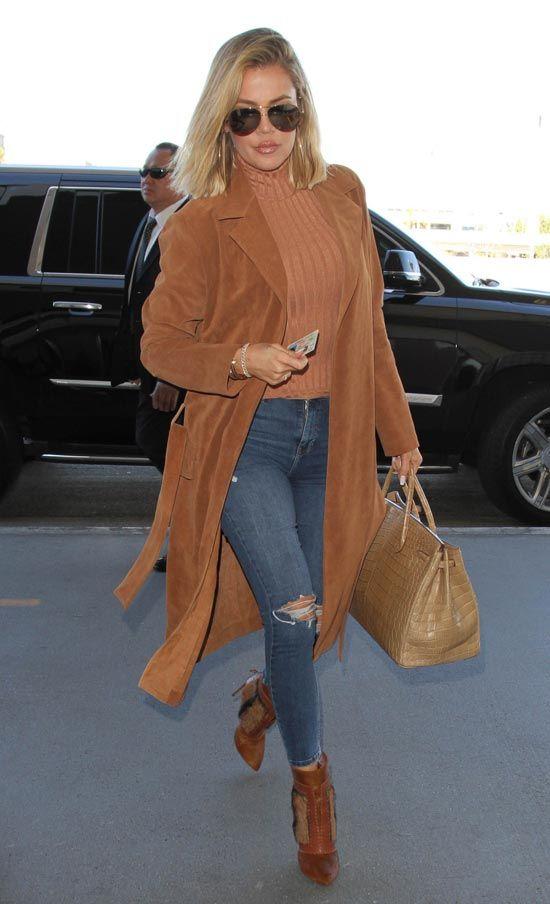 khloe kardashian mejor look de street style de enero 2016