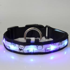 DOG/CAT FASHION Fluorescent luminous cartoon collar      by yassolar