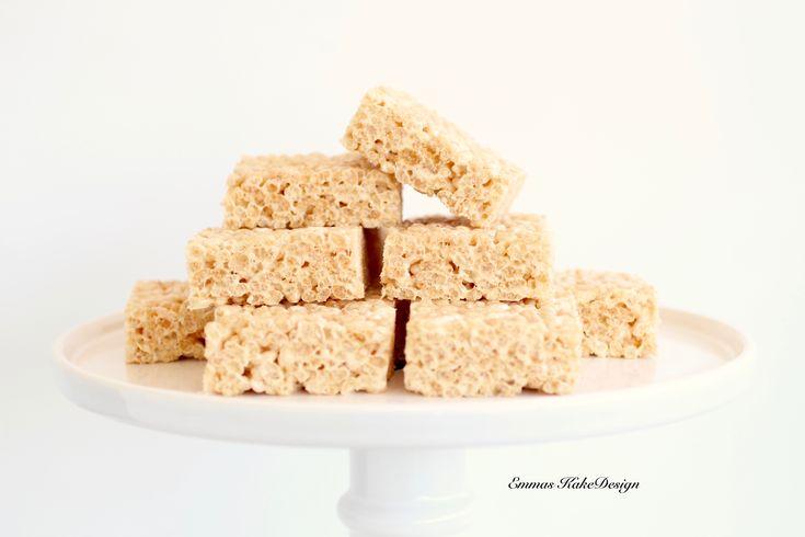Recipe -Rice Krispies Treats- www.emmaskakedesign.no