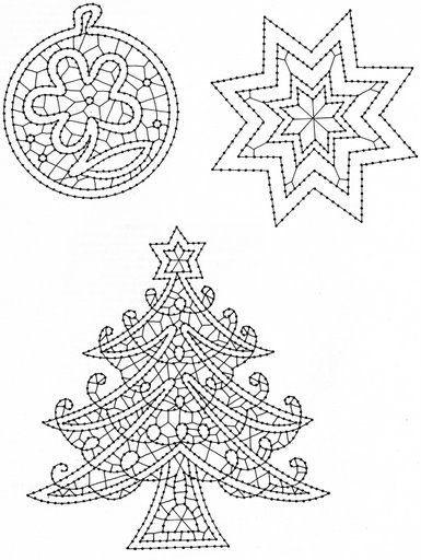 vánoční motivy-paličkování - heli - Picasa Webalbums
