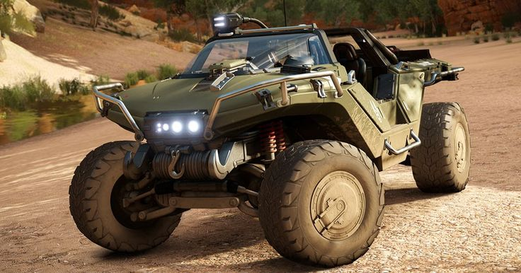 Warthog Deploys From The Halo Universe To Forza Horizon 3 #Forza #Games