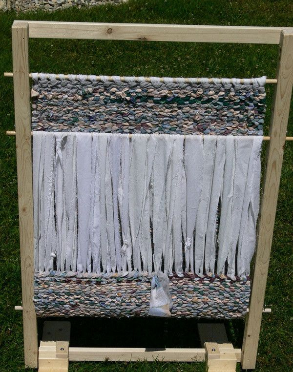 Build Your Own Rag Rug Loom   Downloadable Plans